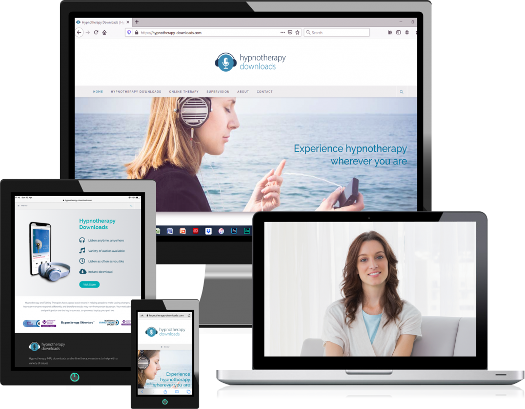 Online hypnosis sessions from Hypnotherapy-Downloads.com