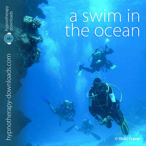 swim in the ocean - hypnosis download from hypnotherapy-downloads.com